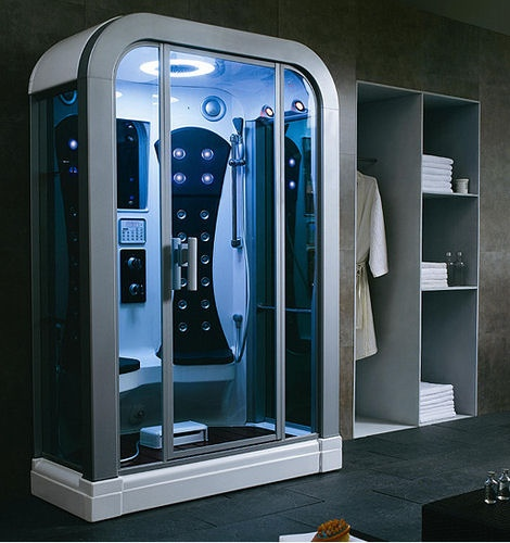 salle de bain futuriste geekanatomy. Black Bedroom Furniture Sets. Home Design Ideas